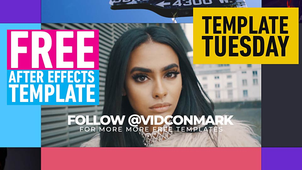 Free After Effects 2018 Template Dynamic Opener Adobe Premiere