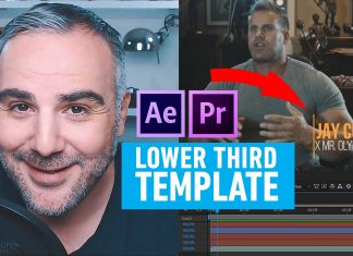 Lower Third Template Premiere Pro