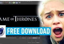 Game Of Thrones - 3D Movie Font