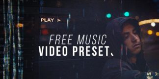 Music Video Preset Pack For After Effects