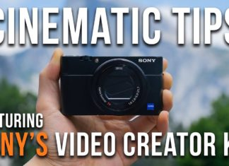 Sony Video Creator Kit With The RX100 Mark III
