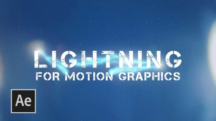 Lightning Electricity Effect After Effects