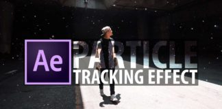 Particle Tracking Effect After Effects