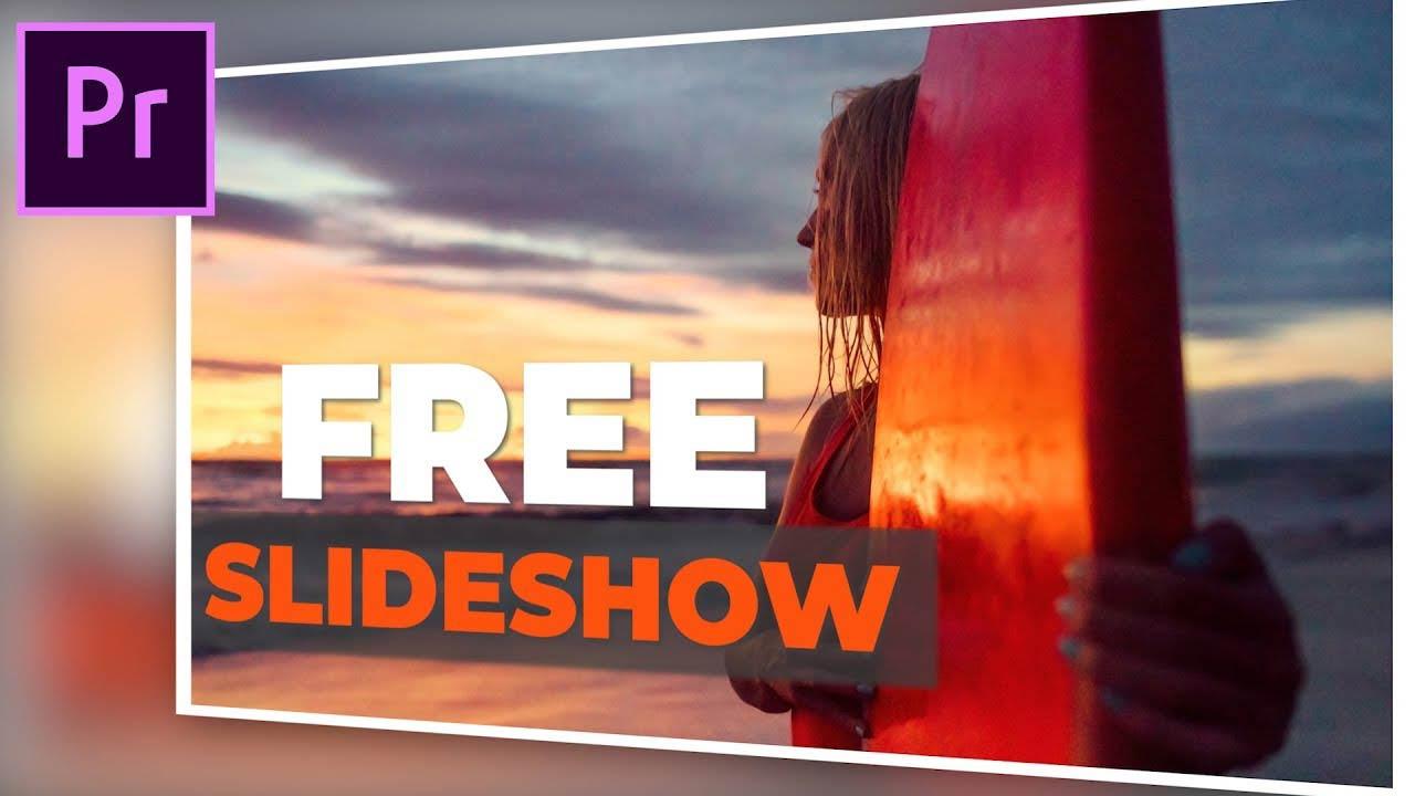 adobe premiere pro slideshow templates free download