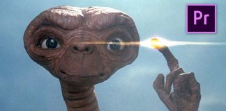 E.T. Effect in Premiere Pro
