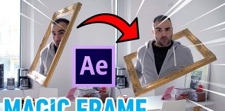 After Effects Magic Frame Tutorial