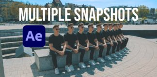 How To Take Multiple Snapshots In After Effects