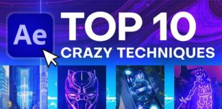Top 10 Crazy After Effects Techniques